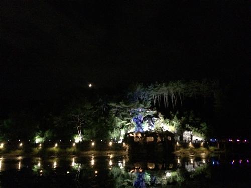 堤川 義林池