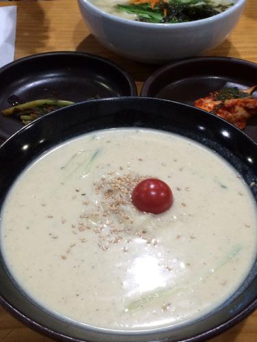 豆乳麺 コングクス
