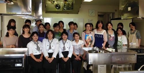 韓国農水産食品流通公社 aTセンター 料理教室