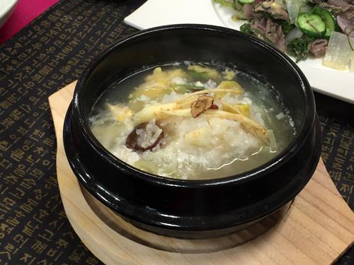 韓食世界化専門人養成スクール チョ・ヒスク先生