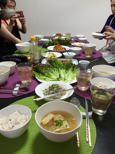 韓国料理教室 白菜キムチ作り