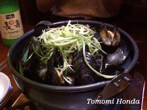 ナスラックキッチン 韓国でリーズナブルな海鮮食材!ムール貝