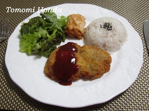 ナスラックキッチン 韓国トンカツ