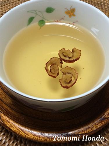 スランジェ韓国伝統茶ワークショップ なつめ茶