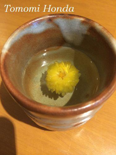 スランジェ韓国伝統茶ワークショップ 菊花茶