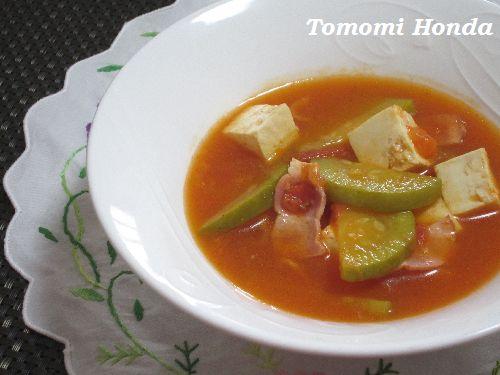 トマトコチュジャンチゲ