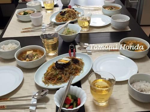 韓国料理教室 コチュジャン作り
