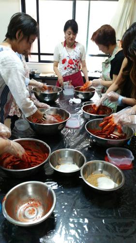 コチュジャン作り 韓国料理教室