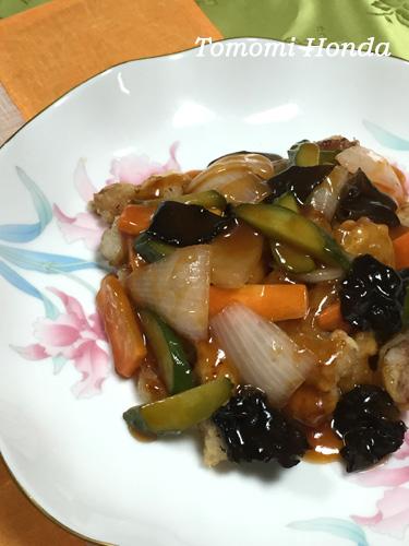 韓国酢豚 タンスユク
