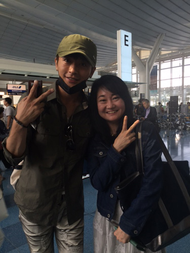 韓国旅行記 歌手キム・キミンさん