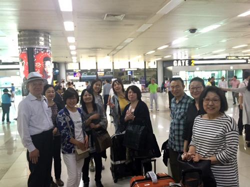 韓国旅行記 韓伝会を含む参加メンバー