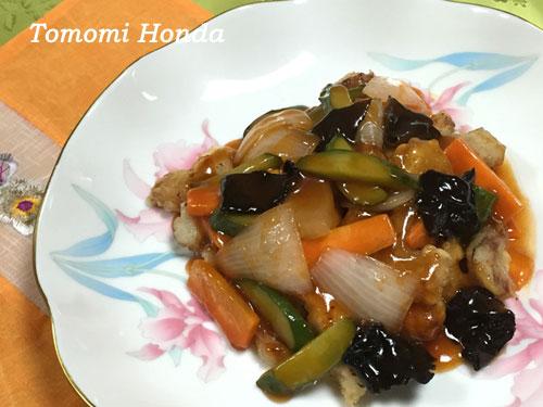 ナスラックキッチン 韓国酢豚(タンスユク)