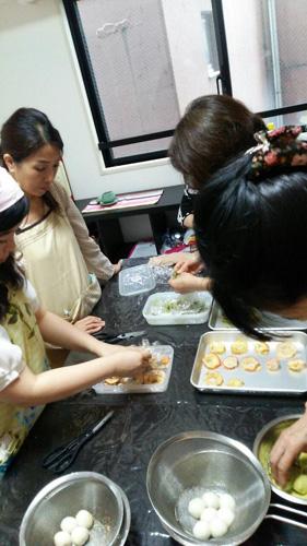 韓国伝統菓子コースレポ