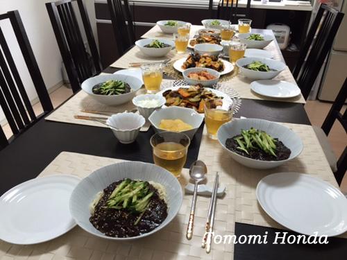 韓国料理教室 ジャージャー麺
