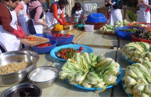 キムジャン 韓国料理教室