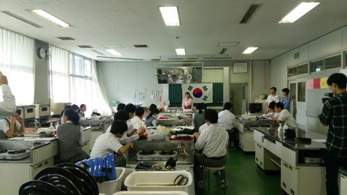 韓国料理講習