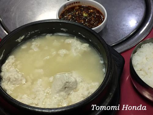 ナスラックキッチン 韓国ならではの豆腐料理