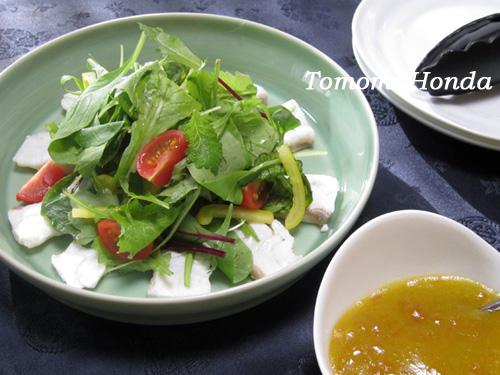 ナスラックキッチン 干し柿ドレッシングのタイサラダ